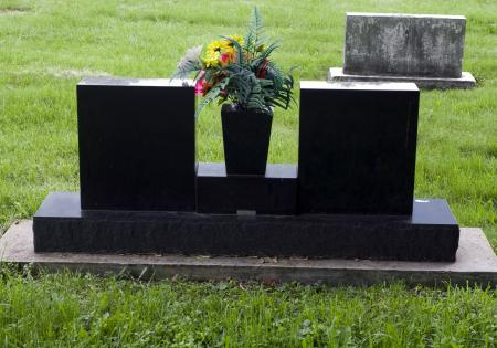 Granite Double Headstone